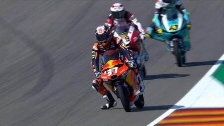 Pedro Acosta brilla en la primera toma de contacto de Moto3 con Sachsenring