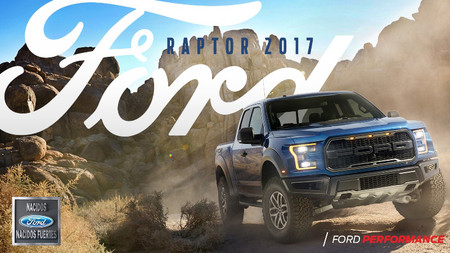 Nueva Ford Raptor 2017 1