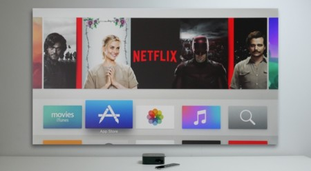 Apple TV pantalla
