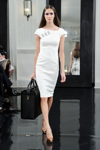 Victoria Beckham, Primavera-Verano 2011 vestido