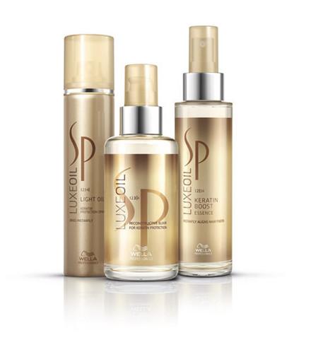 """""""SP Luxe Oil"""" de System Professional Wella, oro líquido para nuestro pelo"""