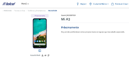 Xiaomi Mi A3 Telcel Mexico Precio