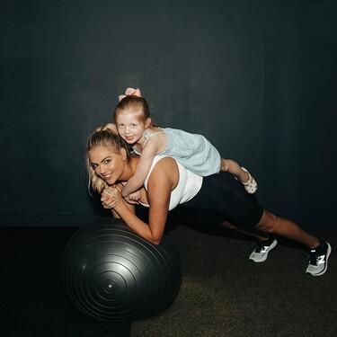 Kate Upton te muestra cómo entrenar y mantenerte en forma después de la maternidad