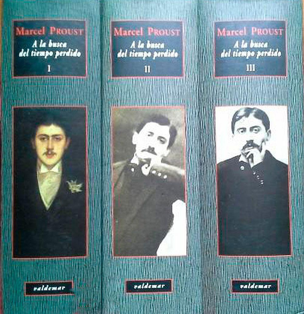 A la busca del tiempo perdido (Tres volúmenes)