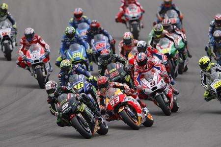 MotoGP comienza de nuevo en el Gran Premio de Alemania