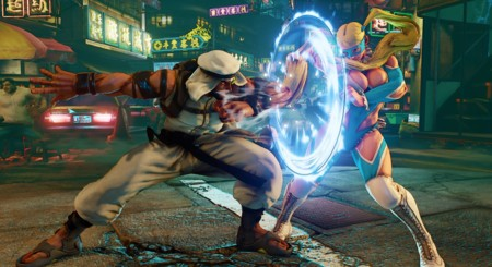 Street Fighter V Rashid 12 Punch