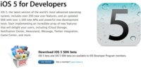 Apple lanza las betas para desarrolladores de iOS 5, iTunes 10.5, Apple TV 2, Safari 5.1, Xcode 4.2 Preview y Lion Preview 4