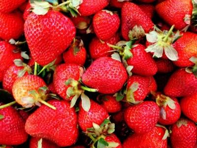 Fresas: mejor sin nata