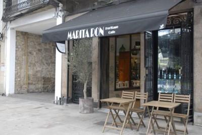 Marita Ron Heritage Café, un espacio multifunción de estilo vintage en A Coruña