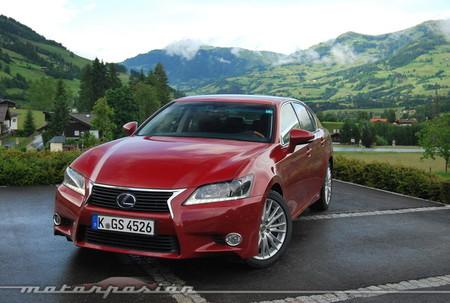 Lexus GS 450h, presentación y prueba en Alemania y Austria (parte 1)