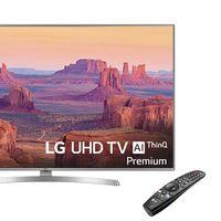 LG 55UK7550PLA: una smart TV de gama alta con 55 pulgadas que Oportunidades DIA nos deja a precio de gama media: 579,99 euros