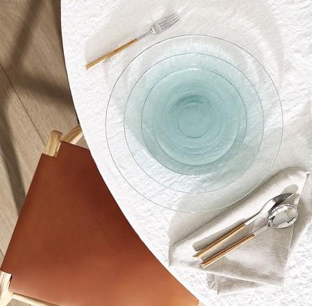 Platos vidrio ecológico Zara Home