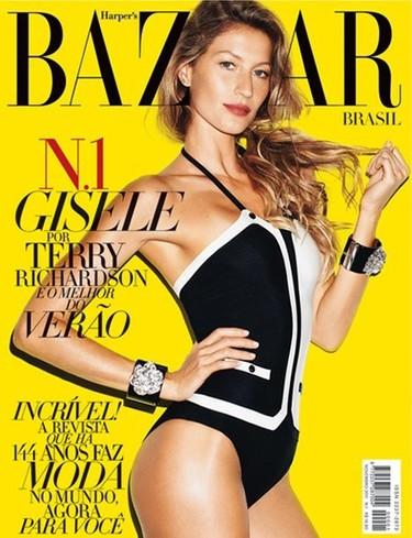 Duelo de portadas: para este mes de noviembre ¿Vogue Hellas o Harper's Bazaar Brasil?