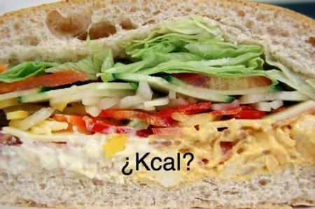 Adivina adivinanza: ¿cuántas calorías tiene un sandwich mixto?