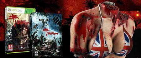 Tetas zombi para la edición europea de 'Dead Island: Riptide'