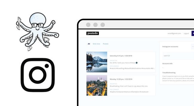 Programa tus publicaciones en Instagram desde esta página web