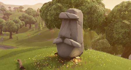 Guía Fortnite: visita diferentes cabezas de piedra [Temporada 5, semana 9]