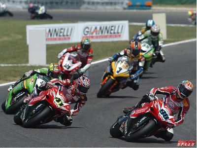 Superbikes, calendario provisional 2007