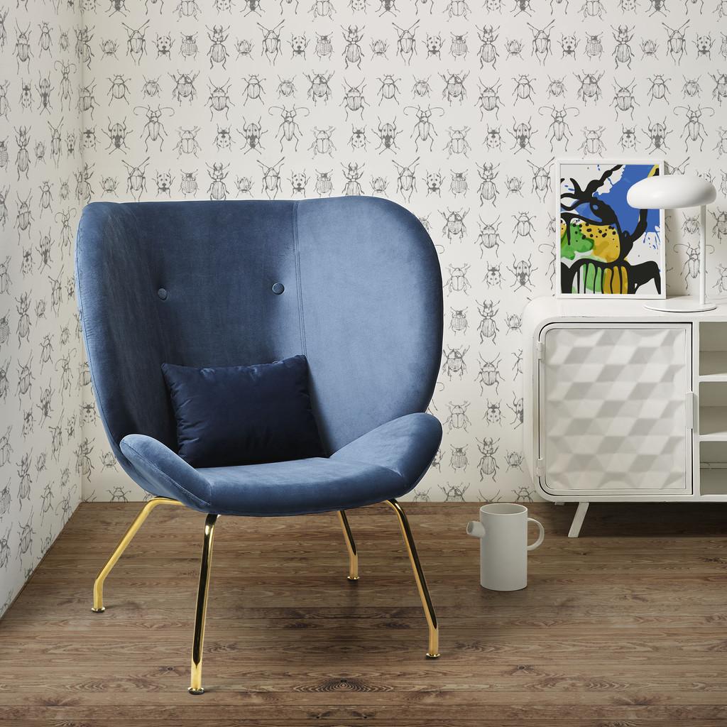 Kave Home también apuesta por el terciopelo en sus nuevas sillas y sillones de la colección Velvet is black