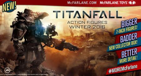 Titanfall 2 llegará este mismo invierno según la compañía de juguetes de Todd McFarlane