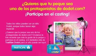 Nuevo club en Bebés y más: Dodot busca bebé de anuncio
