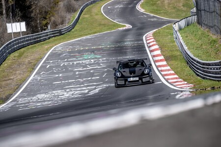 Porsche 911 Gt2 Rs Mathey Racing Nurburgring 006