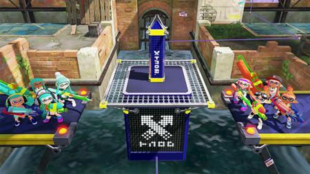 El modo de juego llamado Tower Control llega hoy a Splatoon