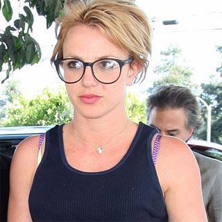 Britney Spears y su look más nerd
