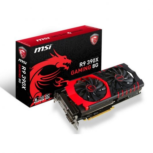 Msi R9 390x Gaming 8gb Gddr5