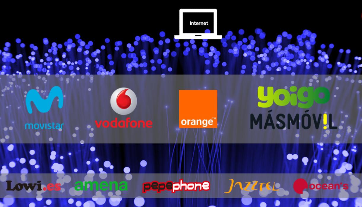 Comparativa de s lo adsl o fibra m s barata sin necesidad de contratar m vil - Contratar solo internet en casa ...