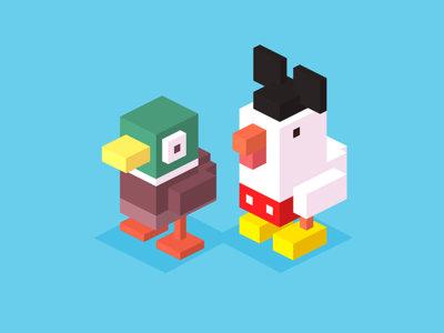 Crossy Road para Android, así de divertido es su nuevo modo multijugador