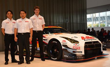 Nissan presenta el GT-R de Lucas Ordóñez en el Super GT con el objetivo de ganar en GT300