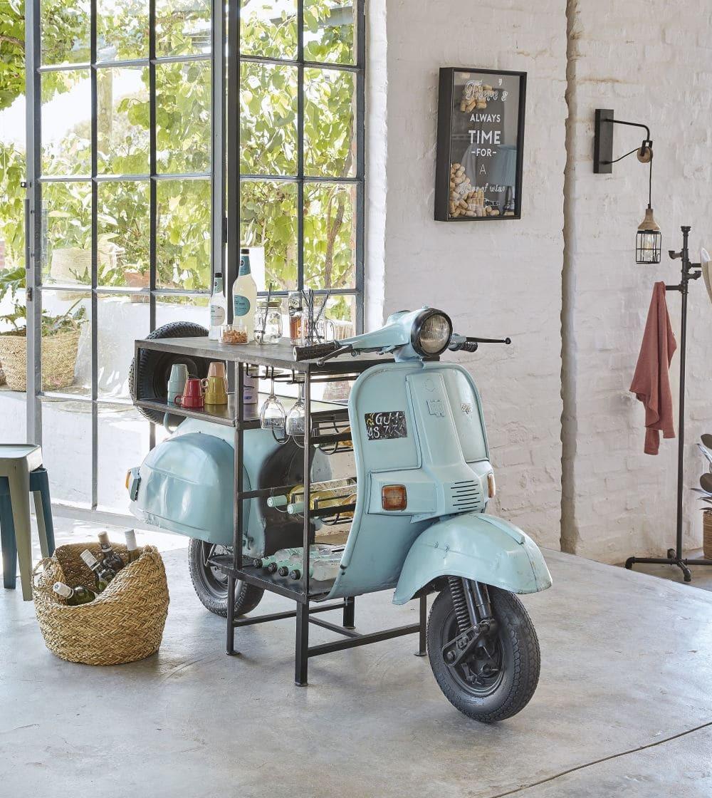 Mueble bar moto Maisons du monde