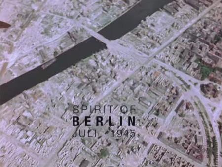 Así luce el Berlín de 1945 en color y alta definición: una mirada a la destrucción total