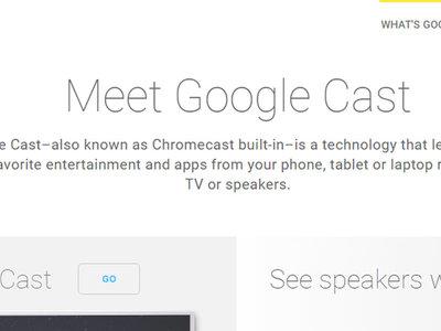 Google Cast se llamará Chromecast otra vez
