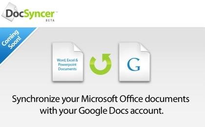 DocSyncer, sincronizando los documentos ofimáticos de escritorio con Google Docs y viceversa