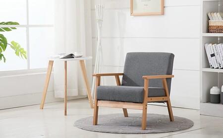 ¿Fan del sillón EKENÄSET de Ikea? En Amazon tienes un clon, y puedes llevarte dos sillones al precio de uno