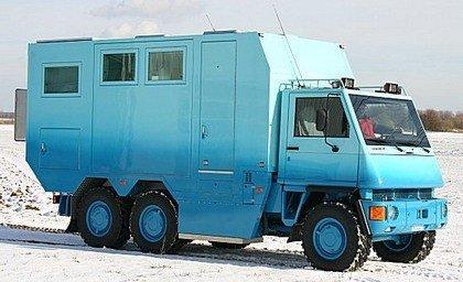 Unicat, otro fabricante de camiones-caravana