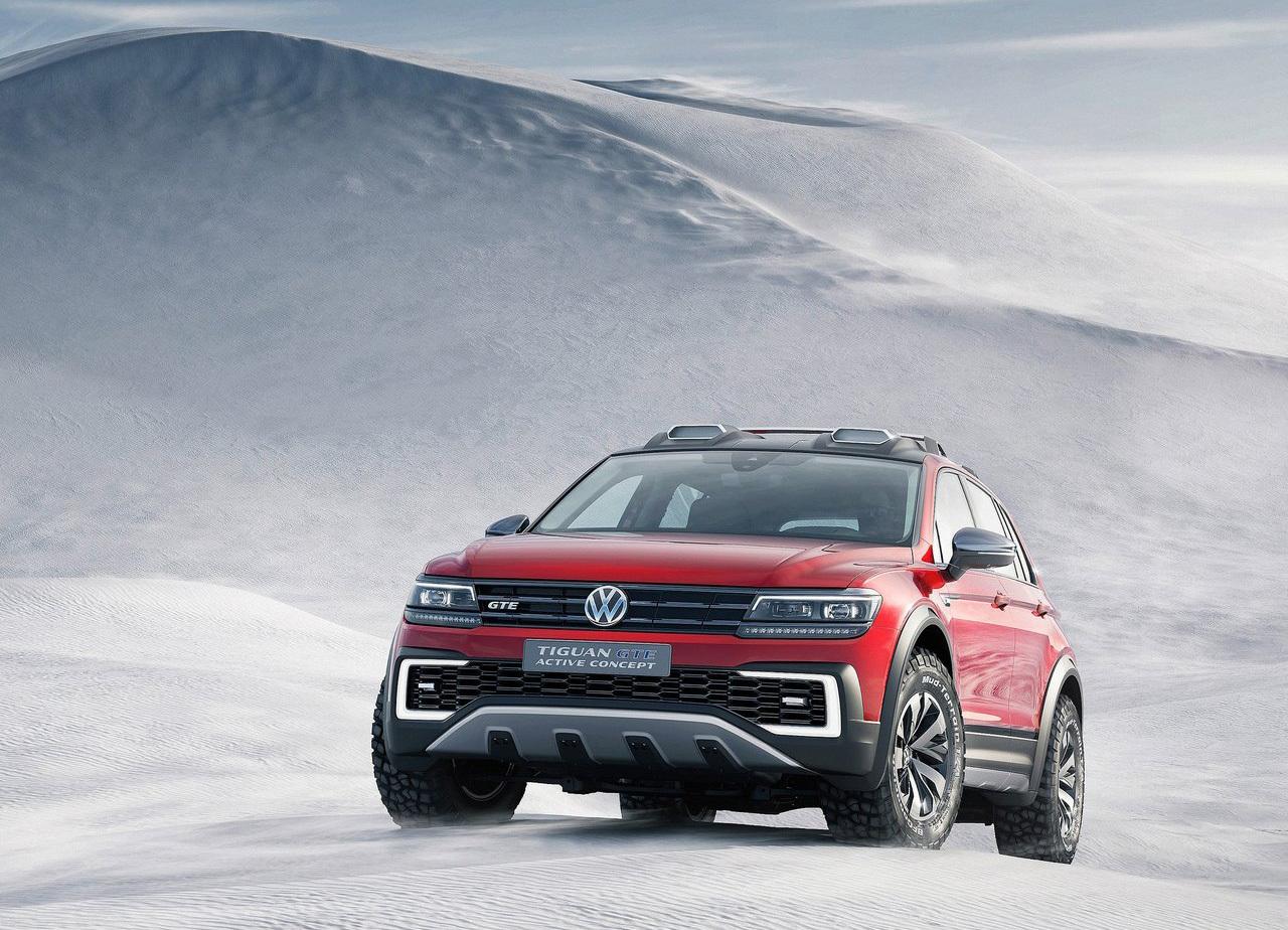 Foto de Volkswagen Tiguan GTE Active Concept (14/17)