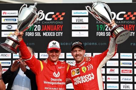 La victoria de Mick Schumacher a Sebastian Vettel nos dejó uno de los mejores momentos del ROC 2019