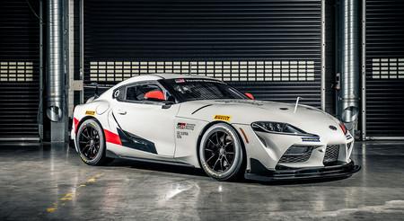 El Toyota GR Supra GT4 es la versión de carreras que quiere llevarse cuantas coronas pueda