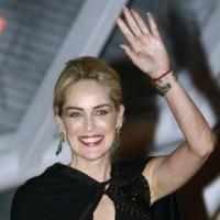 """El vestido de Sharon Stone que te dejará """"de piedra"""""""