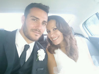 Guapísimo estaba el olímpico Saúl Craviotto el día de su boda