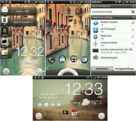 Sense 3.5 HTC Desire HD