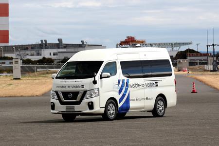 Nissan pone a prueba su tecnología Invisible-to-Visible en un ambiente controlado y de condiciones reales