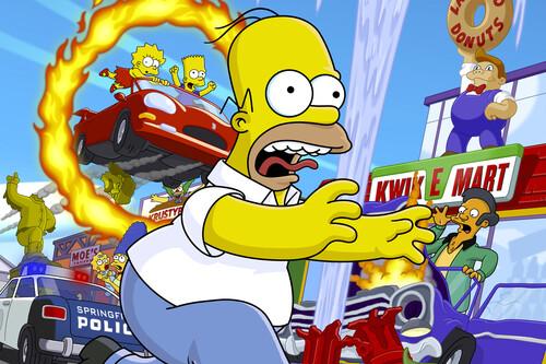The Simpsons Hit & Run: la alucinante historia sobre cómo se creó (y la que explica por qué nunca tuvo una secuela)