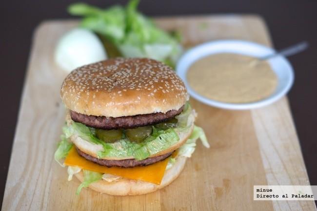 Big Mac Casero - presentación