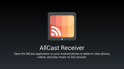 AllCast Receiver te permite hacer streaming multimedia entre dispositvos Android