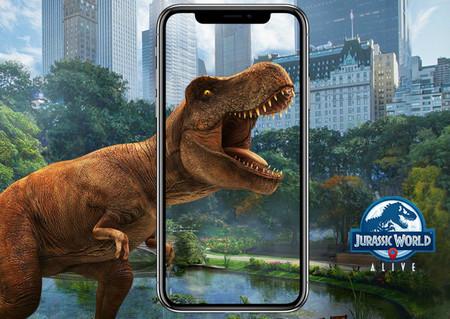 Cazando dinosaurios a lo Pokémon GO: probamos 'Jurassic World Alive', el nuevo juego de AR para móvil
