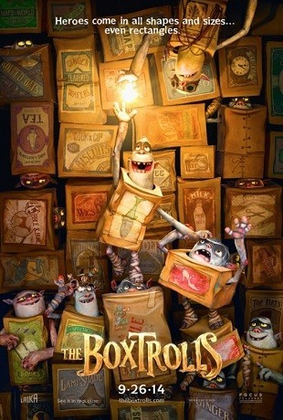 'The Boxtrolls', teaser tráiler y cartel